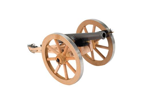 """Traditions Mini Napolean III Cannon Breech 50 Black Powder, 7.25"""" A1264 Fuse"""