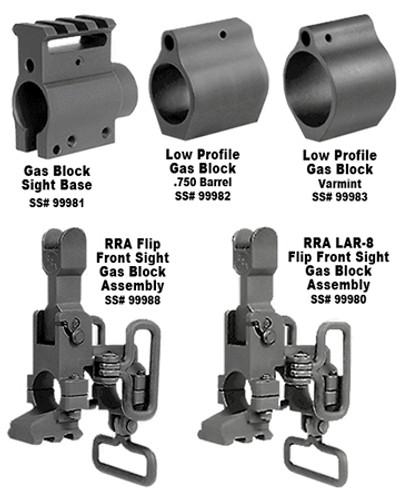 Rock River Arms Low Profile Gas Block .750 Barrel AR-15 Black