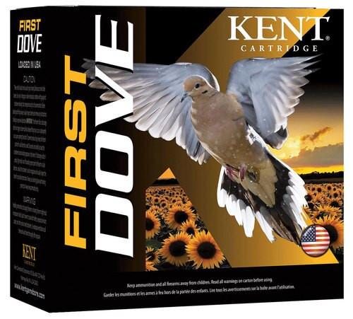"""Kent First Dove 12 Ga, 2.75"""", 1oz, 25/250"""