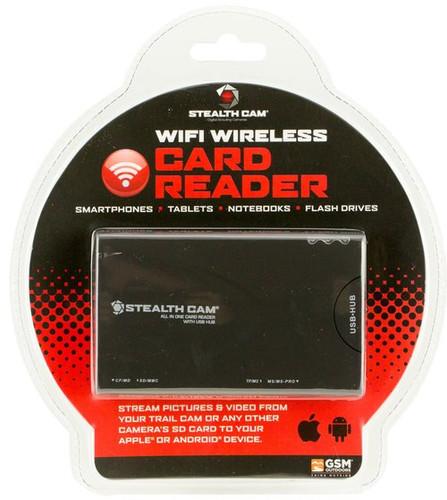 Stealth Cam STC-WIFICR Wifi Card Reader SD Card Viewer