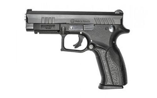 "Grand Power Q100 9mm Double, 4.3"", Black Polymer Grip, Black, 12rd"