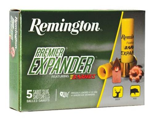 Remington Premiere Expander Slug PRX20 20 Ga, 5rd/Box