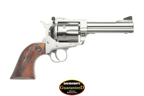 "Ruger Blackhawk 6 Shooter 45 Long Colt, 4 5/8"" Barrel & Stainless Finish"
