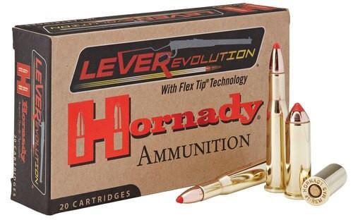 Hornady LEVERevolution 25-35 Win 110gr FTX, 20rd/Box