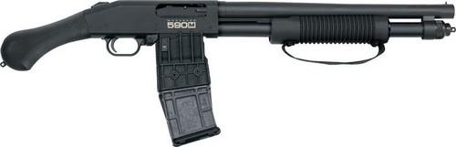 """Mossberg 590M Shockwave Mag-Fed Pump Action 12ga 14"""" Barrel 11 Shot MAG-FED"""