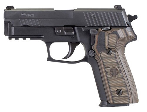Sig P229, 9mm, 3.9In, Select, Black, Da/Sa, Siglite, Select, (2) 15Rd Steel Mag, SRT