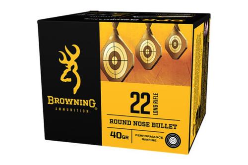 Browning BPR 22LR 40gr, Lead Round Nose , 400rd/Box