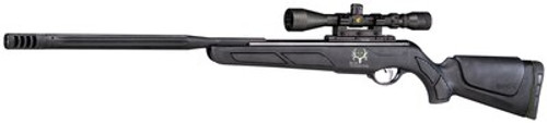 Gamo Bone Collector Maxxim Air Rifle, .22, Break Open, Black