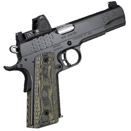 "Kimber KHX Custom Optic Included 1911 45 ACP 5"" Barrel, Trijicon RMR-06 3.25 MOA Dot 8rd Mag"