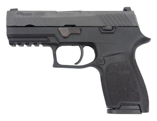 Sig P320 Compact 9mm, Night Sights, USED Police Trade-In, Excellent Condition