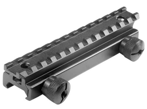 Barska Flat Top Riser Mount For AR-15/M16 Picatinny Style Black Matte F