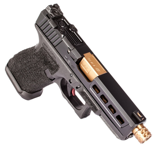 ZEV Z19 DRAGONFLY BLACK 3RD GEN THREADED RMR GUN MODIFICATION