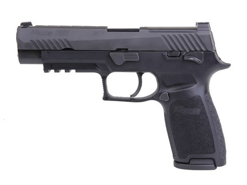 Sig P320-M17 9mm Bravo (Black) (1) 17rd Mag & (2) 21rd Mags TALO Exclusive