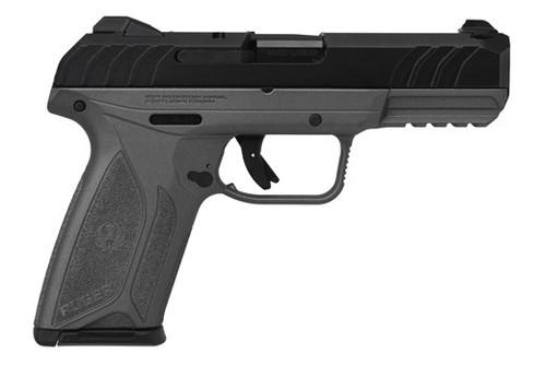 "Ruger Security-9 Pistol, 9mm, 4"" Barrel, Tungsten Cerakote Finish, Integral Grip 15rd Mag"