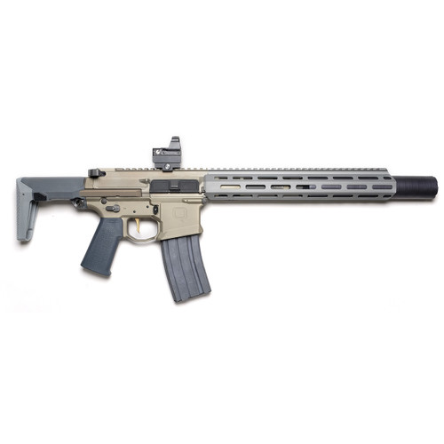 "Q Honey Badger SBR, 300 Blackout, 7"" Barrel, Flat Dark Earth, M-LOK Suppressor Included, 30rd Mag- NFA Rules Apply"
