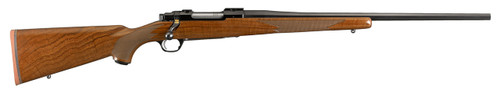 "RUGER LIMITED EDITION 50TH ANNIVERSARY M77 HAWKEYE .243 WIN 22"" BARREL, HIGH GRADE WALNUT STOCK"
