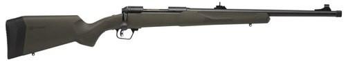 "Savage 10/110 Hog Hunter 338 Federal, 20"" Barrel, 4+1, AccuFit OD Green Stock"