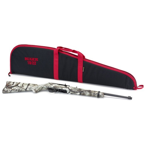 "Ruger 10/22 Carbine 22 LR, 18"" Threaded Barrel, Go Wild Camo Rock Star Synthetic Stock 10Rd Mag"