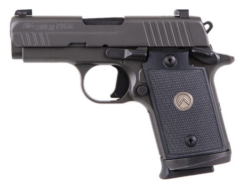 """Sig P938 Legion Compact 9MM 3"""" Barrel, G10 Grips, Night Sights, Gray Finish, 7Rd, 3 Mags"""