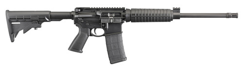 """RUGER AR-556 OPTIC READY 5.56/223 16"""" Barrel 6 Position Stock 30 rd Mag"""