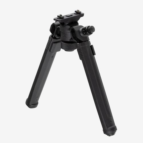 "Magpul Bipod for M-LOK, Black 6061 T-6 Aluminum, Fits M-LOK Style rails, 6.3"" -10.3"" Length"