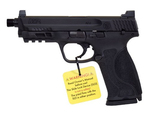 "Hush Puppy Project S&W M&P 2.0 9mm 4.6"" Threaded Barrel, Slide Lock Device 17rd Mag"
