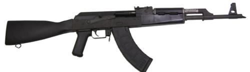 "Century Arms, VSKA, AK47 7.62X39, 16.25"" Chrome Moly Barrel, Matte Blued Finish, Polymer Stock, 30Rd Mag"