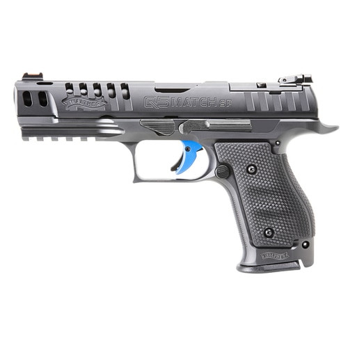 "Walther PPQ M2 Q5 Match Steel Frame, 9mm, 5"" Barrel, 15rd Mag"