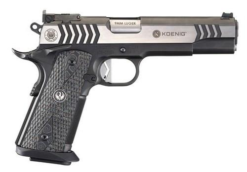 """Ruger Custom Shop Koenig SR1911 Competition Pistol, 9mm, 5"""", Two-Tone"""