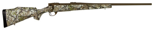 "Weatherby Vanguard Badlands, 6.5-300 Wby Mag, 26"", Burnt Bronze Cerakote, Camo Synthetic Stock"
