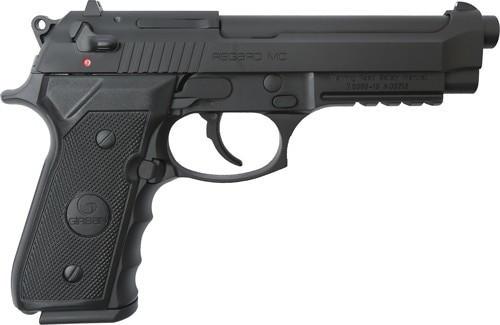"Girsan Regard (Beretta 92 Clone) 9mm 5"" Barrel, Black, 18rd Mag"