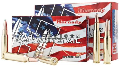 Hornady American Whitetail .243 Winchester 100gr, Interlock Boattail Spire Point 20rd Box