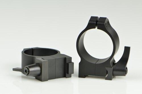 Warne CZ 550/557 30mm CZ 550, QD, Med Matte Rings, 19mm Grooved Receiver