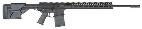 "Seekins Precision SP10, Rifle, 6.5 Creedmoor, 22"" Stainless Match Grade Barrel, ProComp 10x stock, ATC Muzzle Brake, Black, 20 Round"