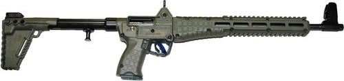 Kel-Tec Sub 2000 9MM Beretta 92 Grip Green Frame 10rd Mag- Accepts Hi Cap mags