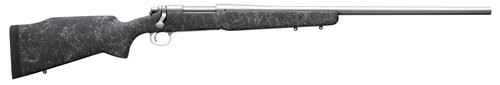 "Remington 700 Long Range SS 6.5 Creedmoor 26"" Barrel B&C Black Gray Spiderweb M40 Stock"