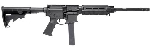"Stag Arms Stag 9 OCR, 9mm, 16"" Barrel, 32rd, Magpul CTR Stock, Black"