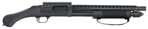 """Mossberg 590 Shockwave SPX, 12 Ga, 14.375"""", 3"""", 5rd, Synthetic Black Raptor Grip"""