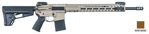 "Barrett REC7 DI, .223/5.56, 18"" Barrel, 30rd, Magpul MOE Black, Burnt Bronze"