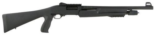 """TriStar Cobra II Tactical Force, Pump-Action 12 Ga, 18.5"""", 3"""", 5rd, Black"""