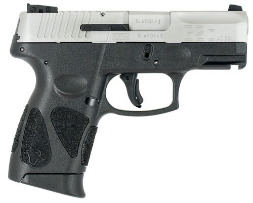 """Taurus G2C, Compact, 40S&W, 3.2"""" Barrel, Polymer Frame, Stainless Finish, 10Rd, 2 Magazines"""