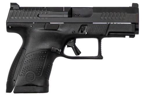 """CZ P-10 USA, 9mm, 3.5"""" Barrel, 10rd, Night Sights, Black"""