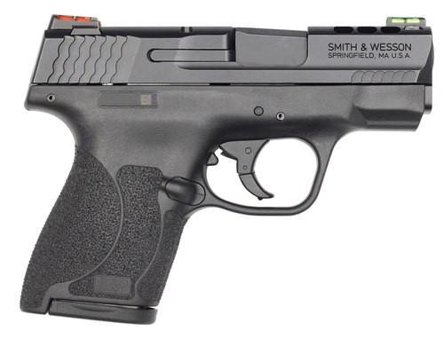 "Smith & Wesson M&P Shield M2.0 40 S&W, 3.1"", 7rd, HiViz Fiber Optic Sights, Black"