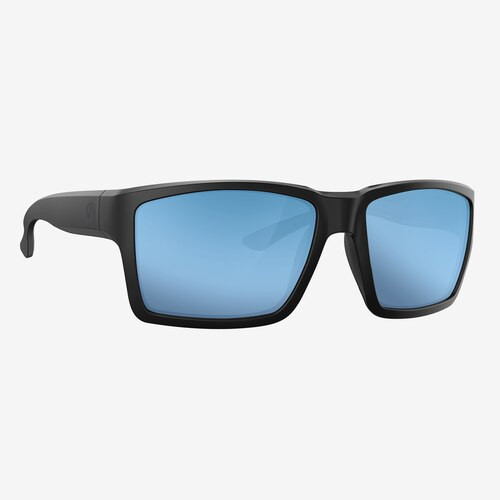 Magpul Explorer XL Eyewear, Polarized - Black / Bronze, Blue Mirror