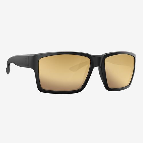 Magpul Explorer XL Eyewear, Polarized - Black / Bronze, Gold Mirror