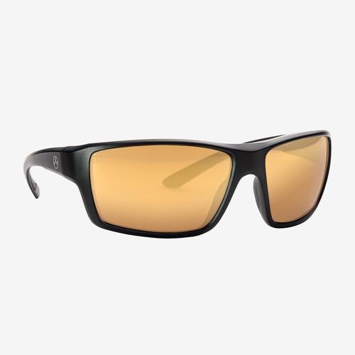 Magpul Summit Eyewear, Polarized - Black / Bronze, Gold Mirror