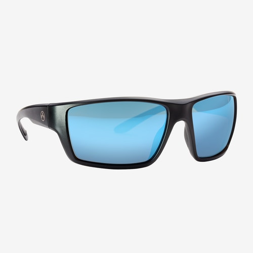 Magpul Terrain Eyewear, Polarized - Black / Bronze, Blue Mirror