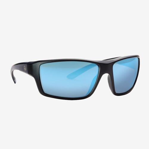 Magpul Summit Eyewear, Polarized - Black / Rose, Blue Mirror