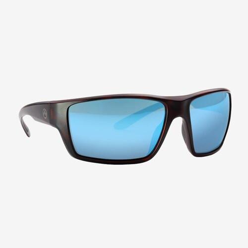 Magpul Terrain Eyewear, Polarized - Tortoise / Bronze, Blue Mirror