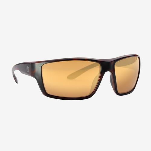 Magpul Terrain Eyewear, Polarized - Tortoise / Bronze, Gold Mirror
